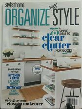 Style At Home Organize With Style 2016 Clear Cutter for Good FREE SHIPPING sb