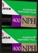 2 Rolls Fuji Pro 400 135-36 EXP. (NPH) Pro Color Negative 35mm Film 12/2005