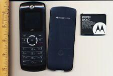 Motorola i series i290 - Black (Boost Mobile) Cellular Phone - Used - Works