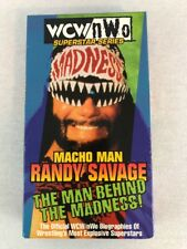 WCW NWO Wrestling Macho Man Randy Savage VHS VCR Tape Madness Biography 60 min