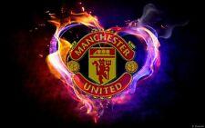 MANCHESTER UNITED  FOOTBALL CLUB   CANVAS ART