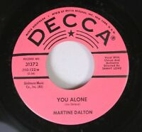 Hear! Teen Promo 45 Martine Dalton - You Alone / I Want You All To Mys