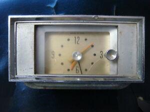 ORIGINAL FoMoCo 1964  64 FORD GALAXIE DASH CLOCK WITH BEZEL C4AB-15009