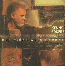 Kenny Rogers - She Rides Wild Horses (CD, Nov-2010) New Free Ship #LF58