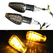 A Pair Motorcycle Turn Signal Light for Suzuki GSXR DR 350 650 DRZ400 GS DL Z