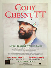 CODY CHESTNUTT Australian Tour Poster 2013 A2 The Roots SYDNEY BRISBANE ONLY NEW