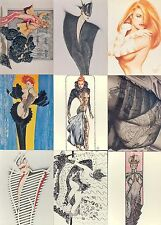 OLIVIA SER. 3 LADIES, LEATHER, AND LACE 1994 COMIC IMAGES BASE CARD SET OF 90 FA