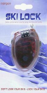 Ski Locks - A must for all skiers & borders - Brand New
