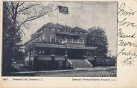 FREEPORT NY – Freeport Club – Long Island – udb – 1906