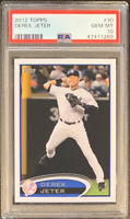 Derek Jeter New York Yankees 2012 Topps Baseball Card #30 PSA 10 GEM MINT