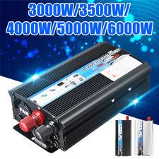 Solar Power Inverter DC12V to AC 220V Car Sine Converter 3000W/4000W/5000W/6000W