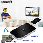 2in1 Aux Wireless Bluetooth Transmitter+Receiver Stereo Audio Music Adapter Lot
