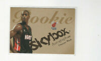 2003/04 Skybox Autographics Dwyane Wade Rookie Card HEAT! RARE RC #'d 921/1500