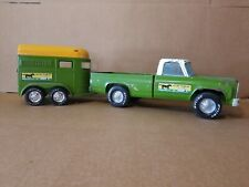 NYLINT STABLES RARE 1970'S CHEVY PICKUP & HORSE TRAILER