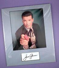 James Garner- Maverick - Genuine Autograph, Signed Card & Matted Photo