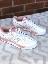 adidas original ortholite rivalry low size 4.5 pink salmon white