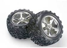 Traxxas 5374 Talon Tires w/ Gemini Wheels for Revo T-Maxx 3.3