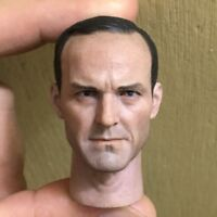 Custom 1/6 Scale Clark Gregg Head Sculpt For Hot Toys Phil Figure Body