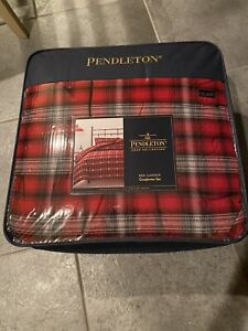 Pendleton Cotton Red Canyon Comforter Set - Full-Queen