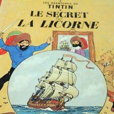 Les Aventures de Tintin Le Secret de La Licorne Hergé Casterman Edition B34 1964