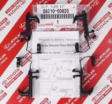 GENUINE TOYOTA LEXUS SCION FLOOR MAT CLIPS SET OF 4 OEM 08211-00720