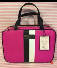 Victoria Secret Limited Edition Hot PinK Makeup Hanger Organizer Case NWT