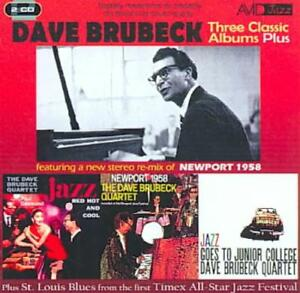 DAVE BRUBECK - THREE CLASSIC ALBUMS NEW CD