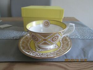 Royal Collection English Fine China Buckingham Palace Cup & Saucer MIB
