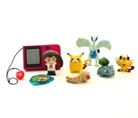 Lot RETRO Pokemon figures TOMY NINTENDO Kraks panini POKEDEX BATTPOKE