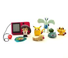 Lot RETRO Pokemon figures TOMY NINTENDO Kraks panini POKEDEX BATTPOKE
