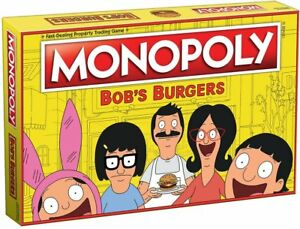 Bob's Burgers Edition Monopoly Board Game USAopoly