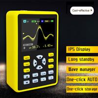 Handheld Digital Oscilloscope 2.4 inch IPS LCD Display 100MHz 500MS/s 5000mah