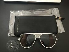 Quay Sunglasses Kylie Jenner - ICONIC -White/Silver - BNIB 100% Authentic