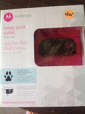 Motorola Dog No-Bark Collar - SCOUTBARK100 with 9 static correction levels