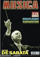 Música: De Sabata, Ceccato, Jinete, N 132 Dicembre2001/Gennaio2002, Revista
