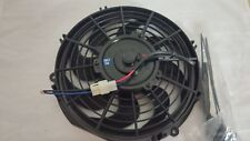 """10"""" UNIVERSAL RADIATOR COOLING FAN WITH CURVED BLADES"""