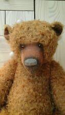 Jensen Huge Ooak Artist Teddy Bear By Beth Anne Martin - Amazing!