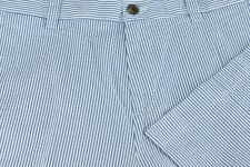 Brooks Brothers Fleece Boy's Blue & White Seersucker Cotton Casual Pants 29 x 31