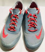 Nike FS Lite Run 2 Running Shoes, #684667-003, Gray/Pink, Women's US Size 11