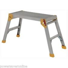 Pliable en aluminium plate-forme échelle double décoration work bench hop up 80cm x 30cm