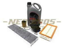 MINI R55 R56 1.6 DIESEL W16 Kit di servizio completo | Olio Filtro dell'aria cabina Olio & Sparks