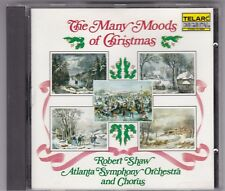 ROBERT SHAW ATLANTA SYMPHONY ORCHESTRA THE MANY MOODS OF CHRISTMAS-CD 1983 JAPAN