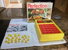 VINTAGE PERFECTION GAME BY ACTION GT COMPLETE AND WORKING - 1980's TOY