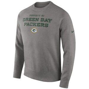 Nike Green Bay Packers Men's Stadium Classic Club Pullover Crew Sweatshirt