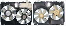 Dual Radiator and Condenser Fan Assembly APDI 6025105 fits 04-06 Lexus RX330