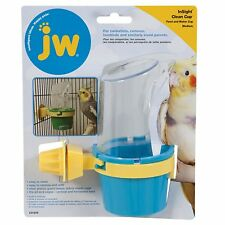 Jw Pet Insight Clean Cup Feeder and Water Cup Medium Color Varies Free Shipping