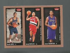 BROOK LOPEZ,BAYLESS,THOMPSON ROOKIE  FLEER 2008-2009  CARD # 239