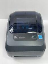 Zebra GK420t Label Thermal Printer GK42-102510-000 NO POWER SUPPLY
