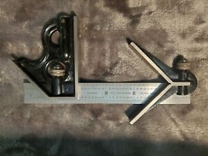 "Union Tool Co. 6"" Combination Square"