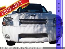 GTG Polished 3PC Overlay Billet Grille Grill fits 2001 - 2004 Nissan Frontier